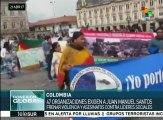 Indígenas y campesinos colombianos rechazan asesinatos a activistas
