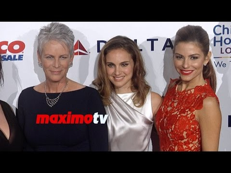 2014 Noche de Niños Gala Natalie Portman, Denise Richards, Jamie Lee Curtis