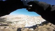 Seconde randonnée sur le massif du Vercors ce jeudi 20 avril 2017 on a fait 1920 m vidéo 7