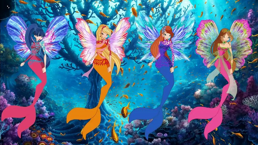 Winx Club World of Winx Dreamix Mermaid Transformation Coloring Book   Evies Toy House