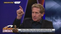 Skip Bayless reacts to LeBron's Triple-Double in Cavaliers Game 3 win against Pacers _ UNDISPUTED