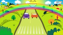 Emergency Vehicles - The Yellow Tow Truck rescues Cars Friends - Cars & Trucks Cartoons for Children