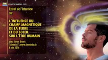 Champs magnétique de la Terre et Soleil - Conséquences sur l'être humain