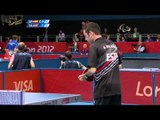 Table Tennis - THA vs ESP - Men's Singles - Class 6 Gold Medal Match - London 2012 Paralympic Games