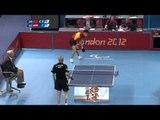 Table Tennis - CHN vs AUT - Men's Singles - Class 9 Gold Medal Match - London 2012 Paralympic Game