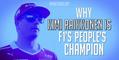 Why Kimi Raikkonen is F1's people's champion