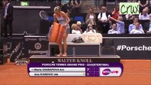 Stuttgart 2013 Quarter Final Highlights Maria Sharapova vs Ana Ivanovic