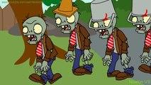 Plants vs. zombies ANIMATION vs Zombies Battle (Cartoon)