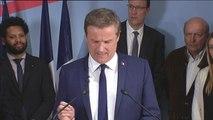Déclaration de Nicolas Dupont-Aignan