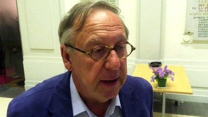 Christian Manable, réagit à la défaite du candidat Hamon