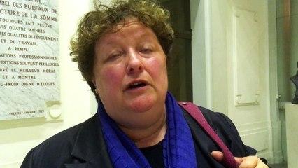 Brigitte Fouré, réagit à la défaite du candidat Fillon