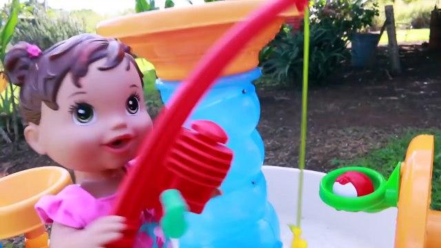 Baby Alive WHEELCHAIR PARK Baby Boy Attack AMBULANCE Crazy Hurt Baby Alive Doll Toy Crutches