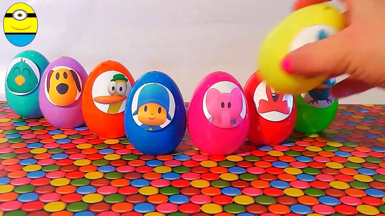 Surprise eggs unboxocoyo and friends eggs surprise toys huev