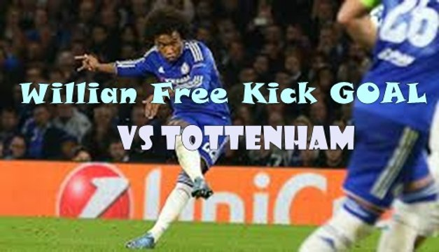 Willian Amazing GOAL | Chelsea 1-0 Tottenham 22.04.2017 HD