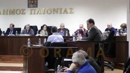 Δημοτικό Συμβούλιο Δήμου Παιονίας 17-02-2016