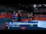 Table Tennis - POL v AUS - Women's Singles Class 10 Semi final - London 2012 Paralympic Games