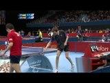 Table Tennis - Men's Singles - Class 7 Semi final GBR v UKR - 2012 London Paralympic Games