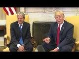 USA - L'incontro del Presidente Gentiloni con il Presidente Trump alla Casa Bianca (20.04.17)