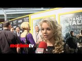 Anna Margaret Interview   When the Game Stands Tall   World Premiere