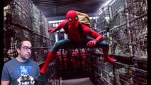 New Spider-Man Homecoming Images Show Peter Parker Leaping Very High