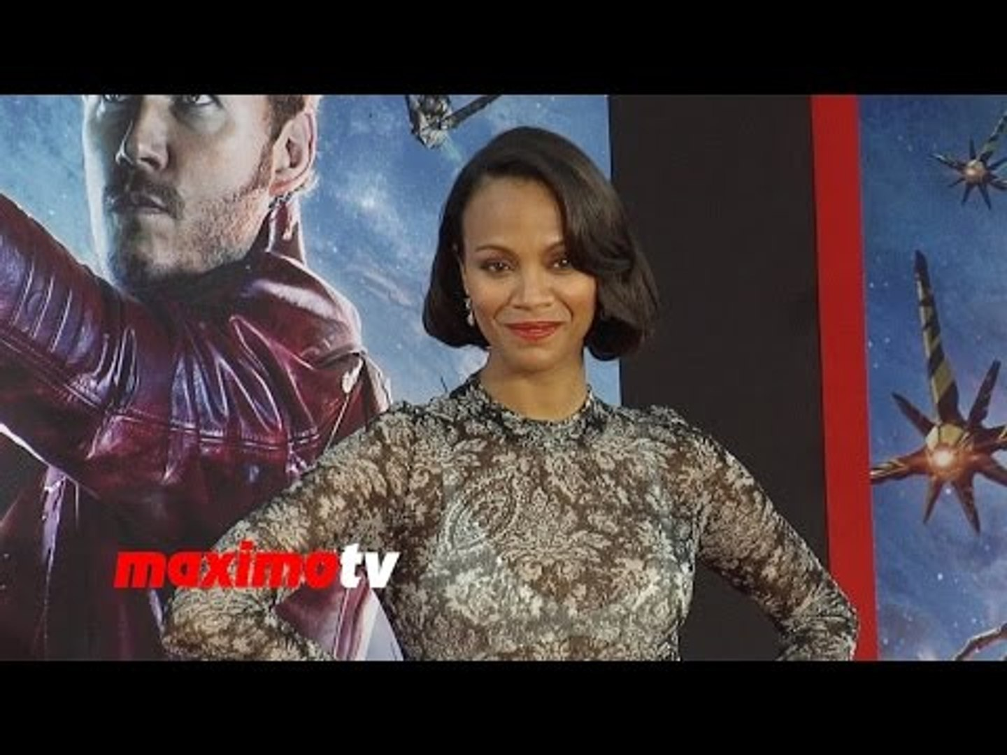 Zoe Saldana | Guardians of the Galaxy | World Premiere | Red Carpet