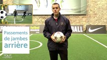 Apprendre les gestes techniques du football  - le passement de jambes arrière-nFh