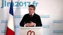 Le discours de Jean-Luc Mélenchon après les résultats du 1er tour