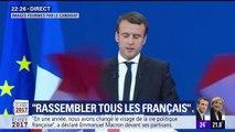 """Emmanuel Macron: """"Je souhaite devenir votre président. Le président des patriotes face à la menace des nationalistes"""""""