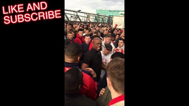 Arsenal Fans FIGHT Robbie From ArsenalFanTV!! _ Arsenal Fight _ Football Fights-CuhBYDmMJmQ