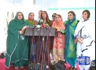 Hilarious Media Talks Of PMLN Women Worker