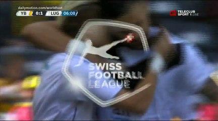 Egzijan Alioski Goal HD - Young Boys 0 - 1 Lugano - 23.04.2017 (720p)