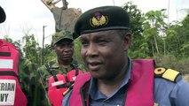 L'armée nigériane en guerre contre les raffineries illégales