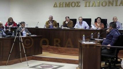 Δημοτικό Συμβούλιο Δήμου Παιονίας 24-11-2016