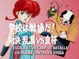 Ranma 008 - L'escola és un camp de batalla. En Ranma contra en Ryoga [CAT]