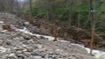 Trabzon'da Hes Bağlantı Borusu Patladı