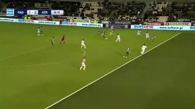Guillermo Federico Molins Palmeiro GOAL - Panathinaikos 1-0 Atromitos 23.04.2017
