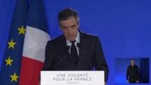 La déclaration de François Fillon à la suite des résultats du premier tour de l'élection présidentielle.