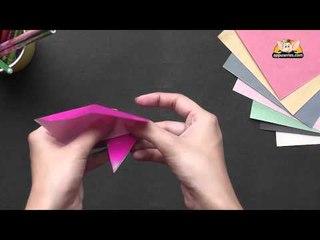 Origami in Marathi - Easy Bookmark