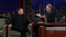 George Bush and David Letterman Impersonator Frank Caliendo on David Letterman