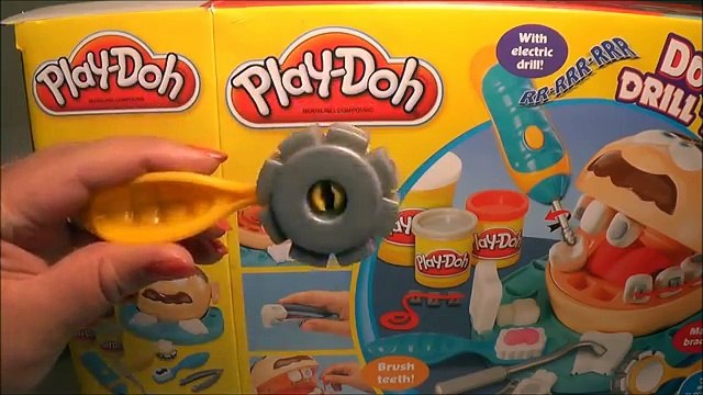 Play Doh Dentista TOYS OnTheGo Dentist Doctor Drill N Fill Playset - Juguetes de Play-Doh