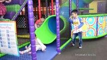 Dix des balles enfants épisode la famille pour amusement amusement intérieur Cour de récréation diapositives balançoire avec