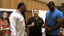 Harlem Heat Booker T & Stevie Ray Interview 2017!