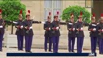 France - Allemagne: Merkel et Macron défendent l'idée d'un avion de combat franco-allemand