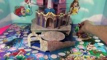 Défi des œufs amusement amusement Jeu la magie Magie palais animaux domestiques apparaitre Princesse Disney kinder surprise surprise