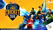 Inde Nouveau contre Icc pro cricket pakistan |