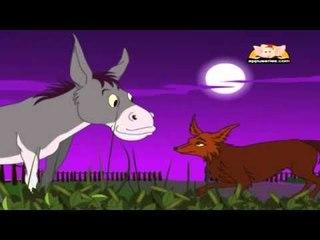 Panchatantra Tale in Telugu - The Singing Donkey