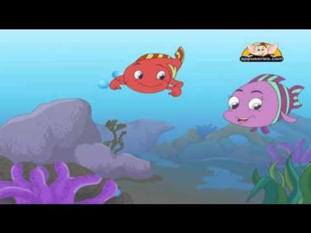 Panchtantra Tale in Telugu - A Tale of Three Fish