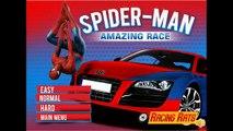 Des voitures saut foudre vitrine homme araignée avec Mcqueen super gta iv mod
