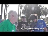 perro angulo and pepper roach boxing workout