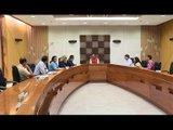BRITISH COUNCIL DIRECTOR FOR INDIA ALAN GEMMELL OBE MEETS GUJARAT CHIEF MINISTER VIJAY RUPANI